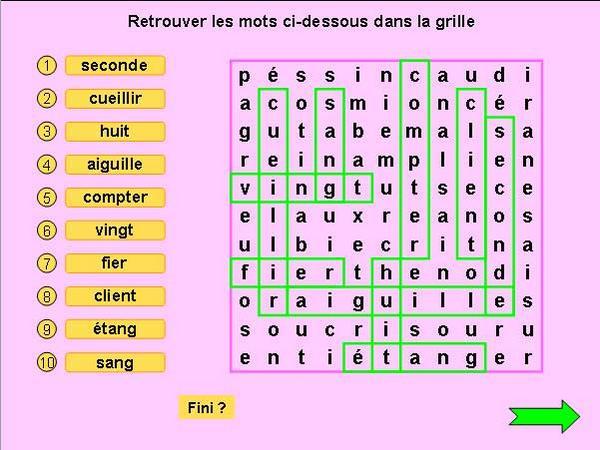 Partage De Fichiers 57 Mots Meles Mots Croises Pontt