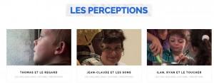 les perceptions
