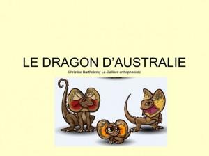 le dragon d'Ausstralie